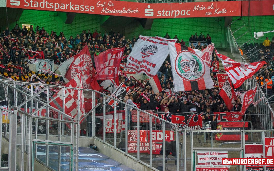 Borussia Mönchengladbach – SC Freiburg 1:1, 15.03.19 – 26. Spieltag Bundesliga