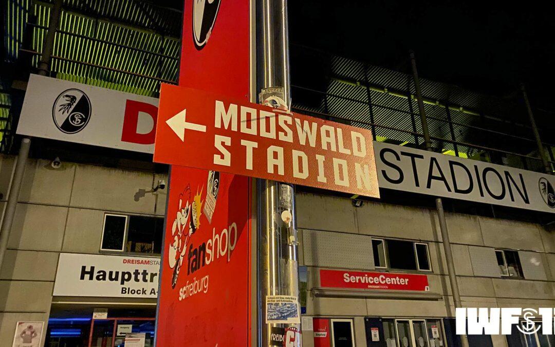 Auf ins Mooswaldstadion!