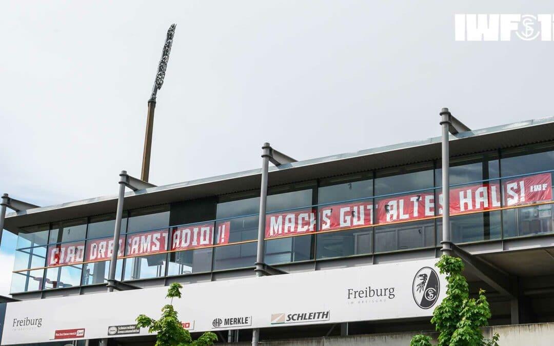 Ciao Dreisamstadion! Machs gut altes Haus!