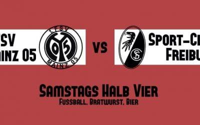 Samstags halb vier – Fußball, Bratwurst, Bier.