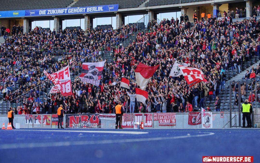 Hertha BSC – SC Freiburg 1:1, 21.10.18 – 8. Spieltag Bundesliga