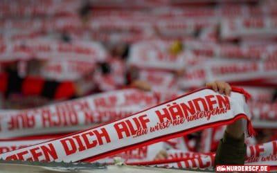 Ausgabe restlicher Choreoschals gegen Hannover